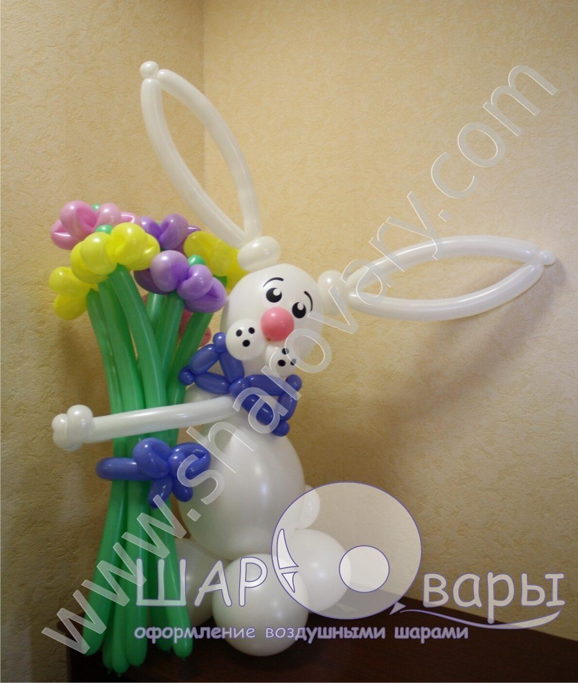 Как сделать букет из шаров своими руками в деталях